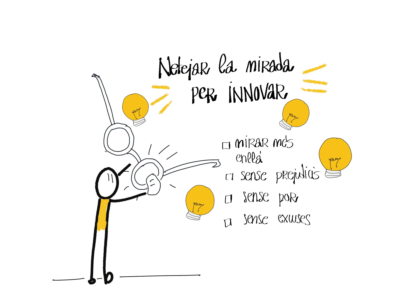 Netejar la mirada per innovar